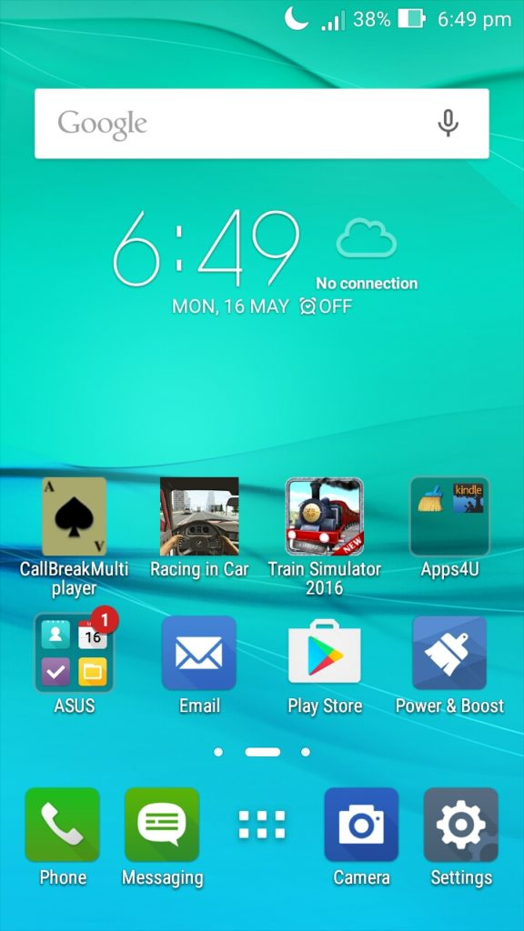 Asus Zenfone Max Software and UI